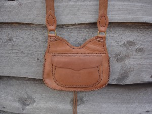 #119 Made by GB, Trade Mark, Ladies Purse, Back Pocket, Possible Bag Hunting Pouch