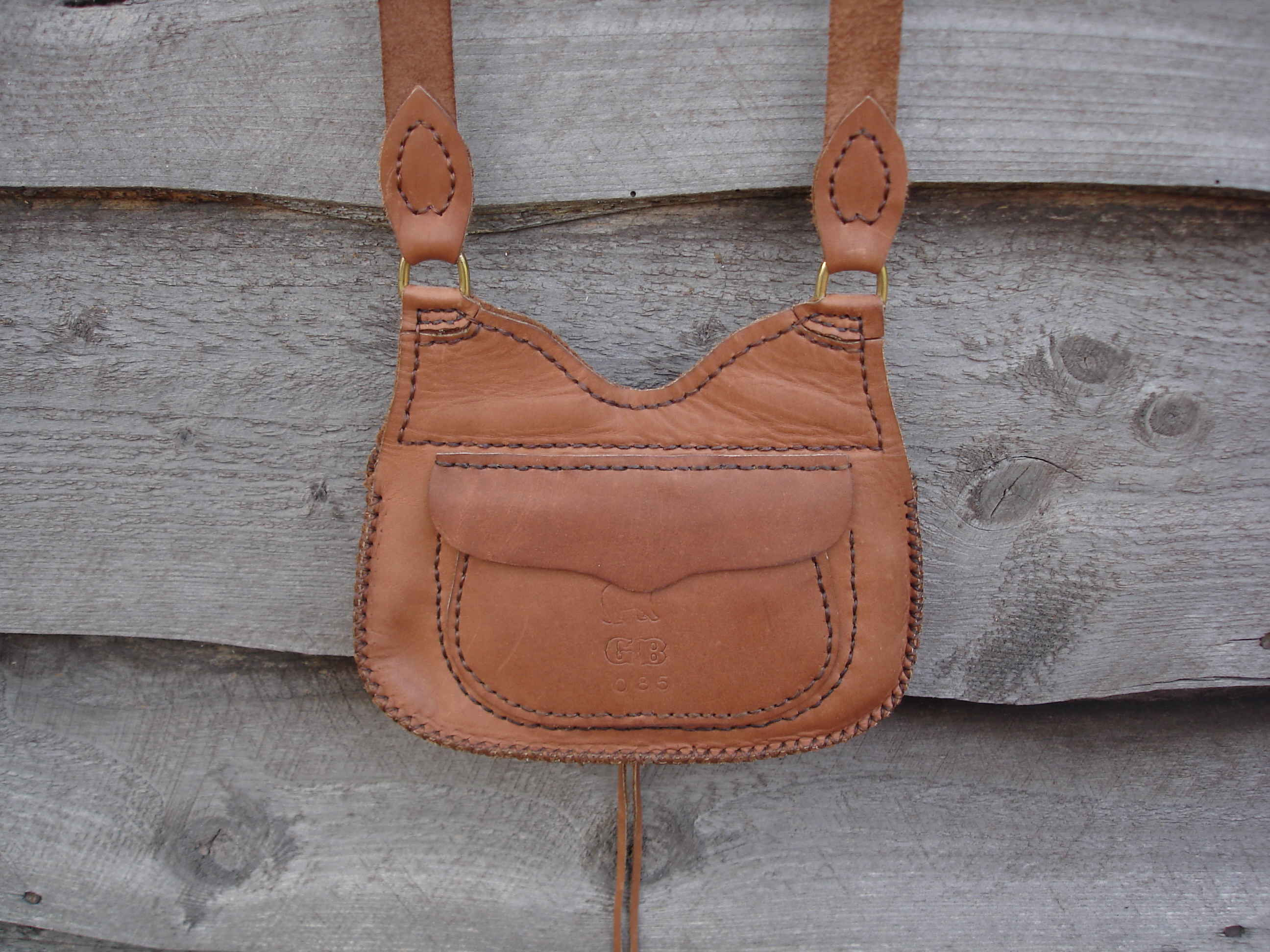 119 Made By Gb Trade Mark Las Purse Back Pocket Possible