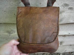 A fellow contacted me to make a replica of a bag he made years ago, as he wanted a new one...